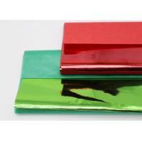 Best Christmas Coloured Wax Paper Sheets Single Side Good Air Permeability wholesale