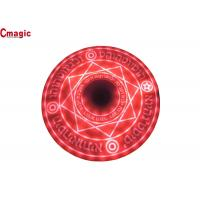 China Cute Cool Qi Wireless Power Charger , Magic Array Qi Compatible Wireless Charging Pad on sale