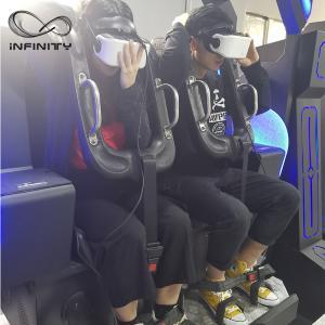 Best Black / Blue VR Motion Simulator Game Machine Two Seats  VIULUX V8 Glasses wholesale