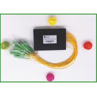Best SC / APC Fiber Optic PLC Splitter Low excess loss 1x16 ports  for PON CATV wholesale