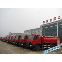 Best Red color single and half cabin Dongfeng 4x2 8000 liters water fire fighting truck low price for sale wholesale