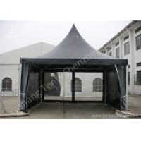 Best White High Peak Tents , Aluminium Pagoda Tent Custom Made Color And Wall Material wholesale