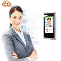 Best Speed Recognition Face Access Control System Terminal 7 - Inch Screen wholesale