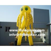 6m Oxford Jellyfish Inflatable Sky Dancer for Outdoor Advertisement and Business show