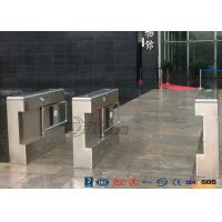 Best Gym Electronic Stainless Steel Turnstile Double Swing IP 54 LED Indicator wholesale