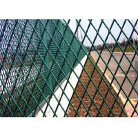 Best Powder Coating Expanded Metal Screen , Steel Mesh Sheet For Building wholesale