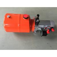 Best Orange 6L Steel Tank DC Compact Hydraulic Power Unit for Dump Trailer wholesale