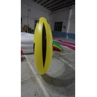 Best 1.2m long Fruit Shaped Balloons , Digital Printing Inflatable Banana wholesale