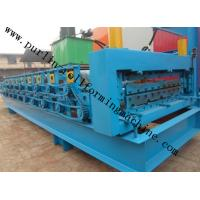 Best High Efficiency Double Layer Cold Roll Forming Machine for Roofing Tile / Wall Panel wholesale