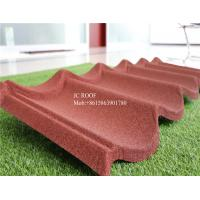 Best hot sale color stone coated steel roofing sheet china supplier terracotta color stone coated metal roof tile wholesale