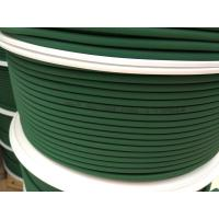 Best Green Polyurethane Round Belt Low Compression Set For Floor / Roof Tiles Conveying wholesale
