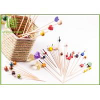 Best Food Grade Baby Shower Toothpicks Decorative Skewers For Food Odorless wholesale