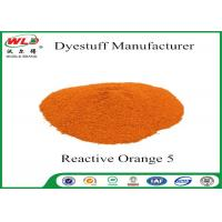 Best Printing Series Fiber Reactive Dye Reactive Orange PE C I Orange 5 wholesale