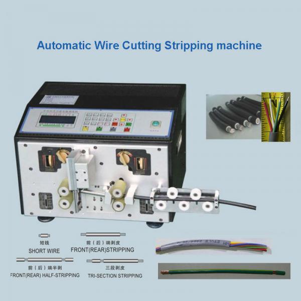Cheap Multi - Core Cable Cutting Stripping Machine  Wire Cut Strip Crimp Machine for sale