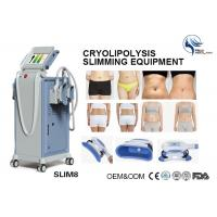 Best Professional 4 Hand Pieces Cryolipolysis Fat Freezing Machine For Double Chin Removal wholesale