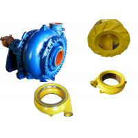 Best High Chrome Alloy Sand Dredging Pump , Sand Removal Pump One Stage Structure wholesale