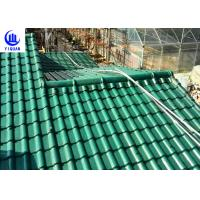 Best Upv Asa Coated Colonial Times Synthetic Spanish Roof Tiles / Plastic Tile Roof Panels wholesale