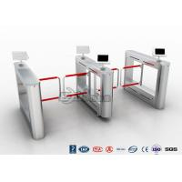 Best Flap Turnstile With Secure Visitor Registration 600mm Passager / 900mm Wheelchair Lanes wholesale