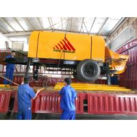 Best 80m3/h Diesel Engine Concrete Pump Trailer Mounted Concrete Pump wholesale