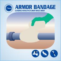 Best Muti-Size Connection Strengthen Armored Bandage Leaking Pipe Repair Bandage  Anticorrosion Protection Bandage wholesale