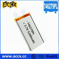 Best 746279PL 3.7V 5200mAh Lithium Polymer Battery wholesale