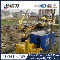 Best 2480KN Pull Capacity DFHD-245 HDD Rig wholesale