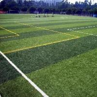 Sports Area Artificial football Turf , Fibrillated fake lawn grass