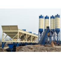 Best Commercial Fixed Ready Mix Concrete Plant , 90m3 Belt Type Concrete Batching Plant wholesale