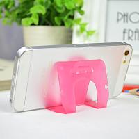 Best Small Pink Pp Phone Desk Stand Cable Drop Clips Boomray 5.1*8.5 wholesale
