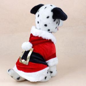 China Christmas dog clothes santa outfits on sale