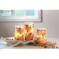 "Cheap Rose Decorative Flickering Flameless Led Candles Dia 3"" x H 4"" for sale"