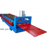 Best Metal Trapezoidal Cold Roll Forming Machine / Roofing Panel Roll Forming Equipment wholesale