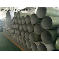 Welded Stainless Steel Pipe UNS S31703 TP317L DIN1.4438 , Stainless Steel Pipe Welding