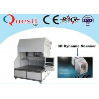 Quality 3D Dynamic Scanner Fiber Laser Marking Machine With Sealed Optical System , 375W RF wholesale