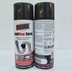 Best Black Leak Liquid Sealer Aerosol Spray Paint Sealant Coating 400ml Filled wholesale