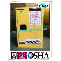 Best Steel Yellow Industrial Safety Cabinets For Laboratory Flammable / Dangerous Goods wholesale