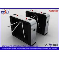 Best Semi - Automatic Tripod Turnstile Gate , Pedestrian Access Waist High Turnstiles wholesale