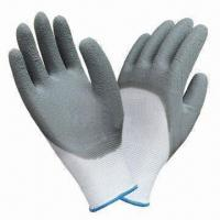 Best Abrasion-resistant Latex-coated Gloves with Crinkle Finish wholesale