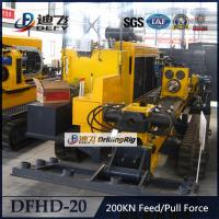 Best Used 20Tons Feeding Capacity DFHD-20 Horizontal Directional Drilling Machine HDD Rig wholesale