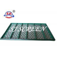 China Solid Control Kemtron Shaker Screen , Oil Shale Shaker Screen With Metal Frame on sale