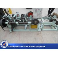 Best High Efficient Razor Barbed Wire Machine , Wire Netting Machine 1500kg wholesale