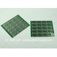 Best Four Layer Multilayer Printed Circuit  Custom Pcb Board 0.8MM Green Solder Mask wholesale