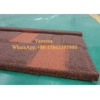 Cheap Terracotta Tiles For Roof  Installed size 1250*370mm Thickness 0.5mm JC110 Sky Blue for sale