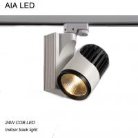 Best Creechip 24degree 60degree COB LED 24W Track light for Exhibition decoration wholesale