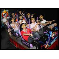 Best Exciting 5d cinema theatre Interactive Gun Shooting Game ABS plastic frame wholesale