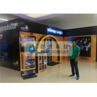 Best Shopping Mall 7d Simulator Cinema , Snow / Windy Effects And Motion Chairs wholesale
