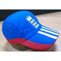 Best 2019 New Style 100% Cotton Golf Cap , Navy And Red Fitted Golf Hats Waterproof wholesale