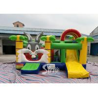 Buy cheap Kids Party Jungle Rabbit Inflatable Bouncy Castle for Indoor Inflatable Indoor from wholesalers