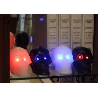 Best Skull Shaped Safety Halloween Led Candles For Home Decoration 340g wholesale