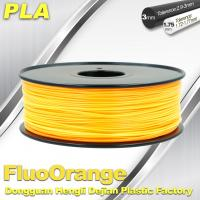Best 1.75mm PLA   Fluorescent  Filament  3D Print Material Stiffness High wholesale